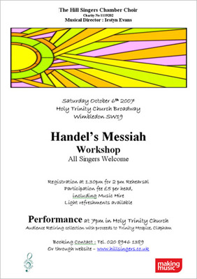 Handel's Messiah workshop